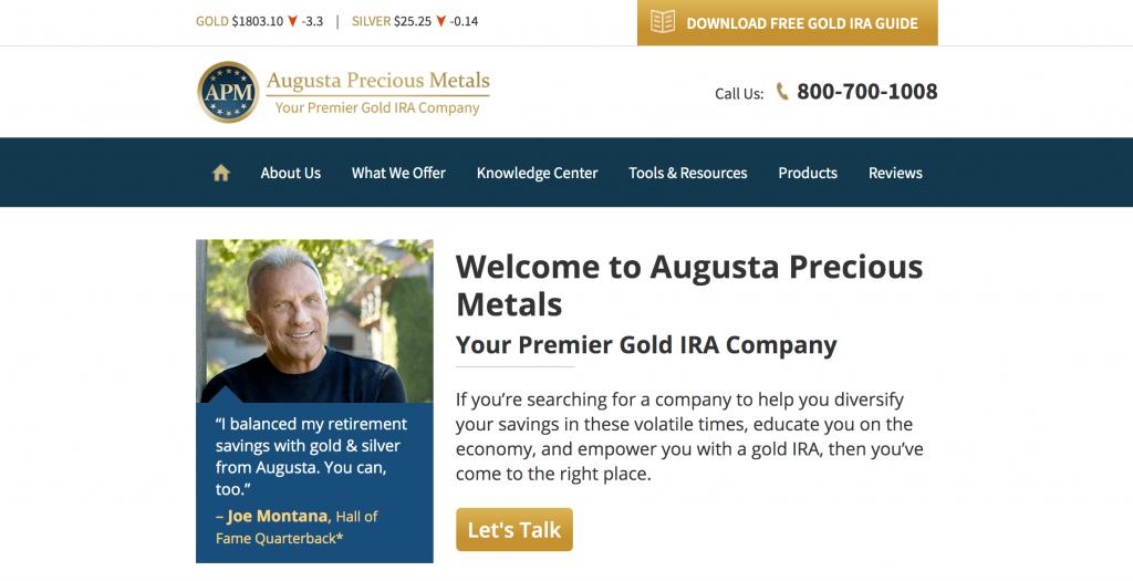 Augusta homepage